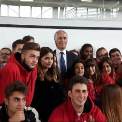 Inaugurazione Palazzetto dello Sport Amatrice A.S.2017-18
