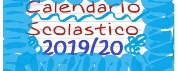 Calendario scolastico A.S.2019/2020