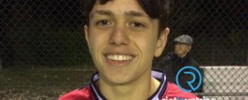 L'Amatrice Calcio presenta Nicolò Dolce, lo studente siciliano del Liceo Sportivo